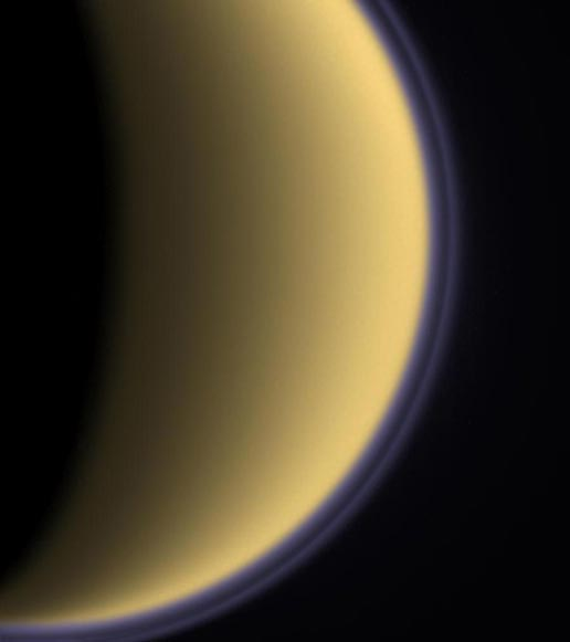 Titan, plus grand satellite de Saturne